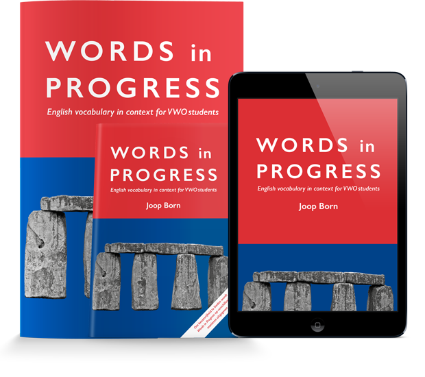 Words in Progress (folio) in combinatie met jaarlicentie Learnbeat